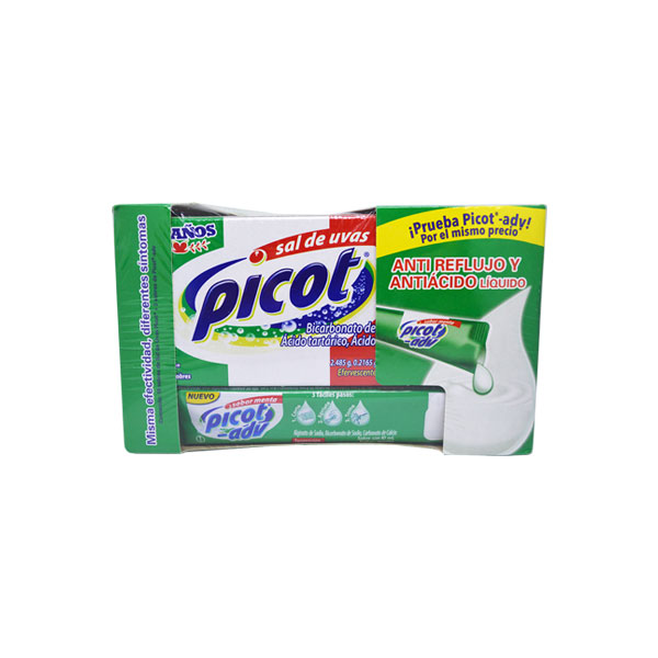 Farmacia PVR - Sal de Uvas Picot adv - 102 sobres