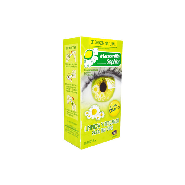 Farmacia PVR - Manzanilla Sophia
