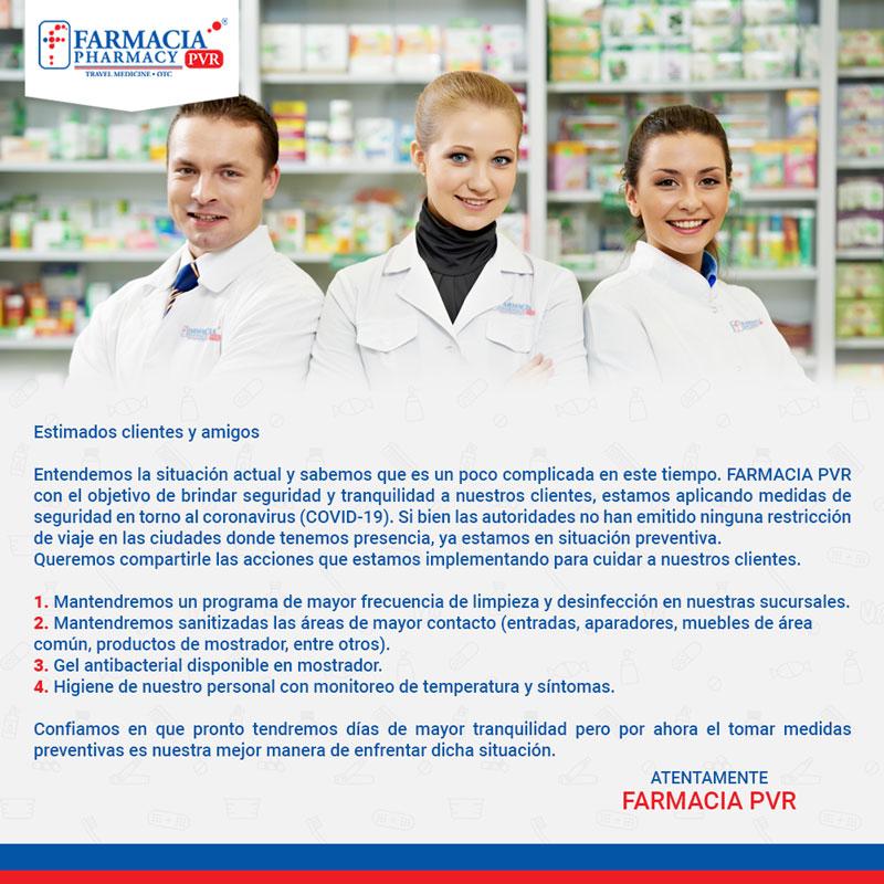 Farmacia PVR - Covid-19